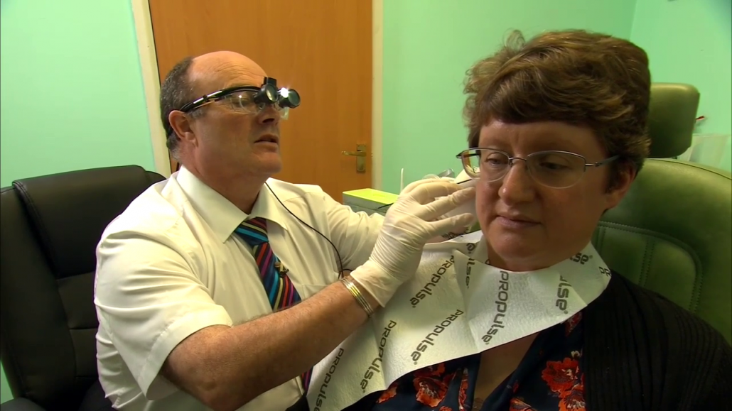 Devon, earwax, removal, Honiton